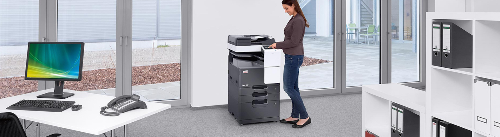 how to use office photocopier